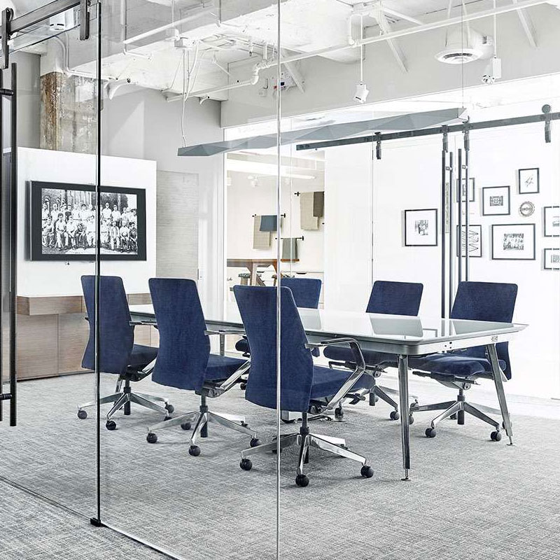 glass conference room furniture