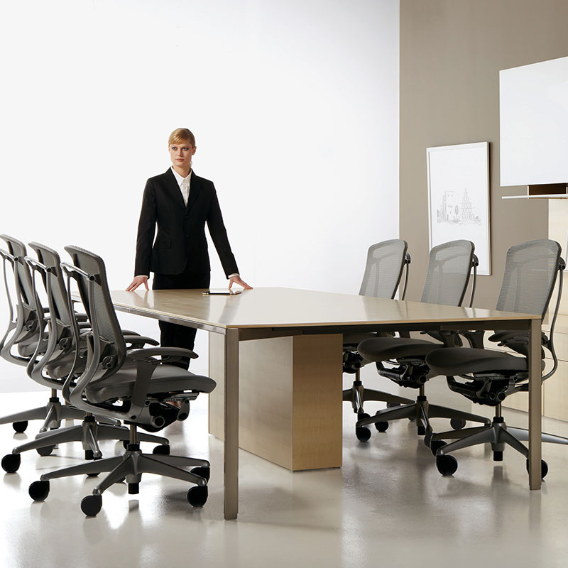 modern teknion conference room furniture