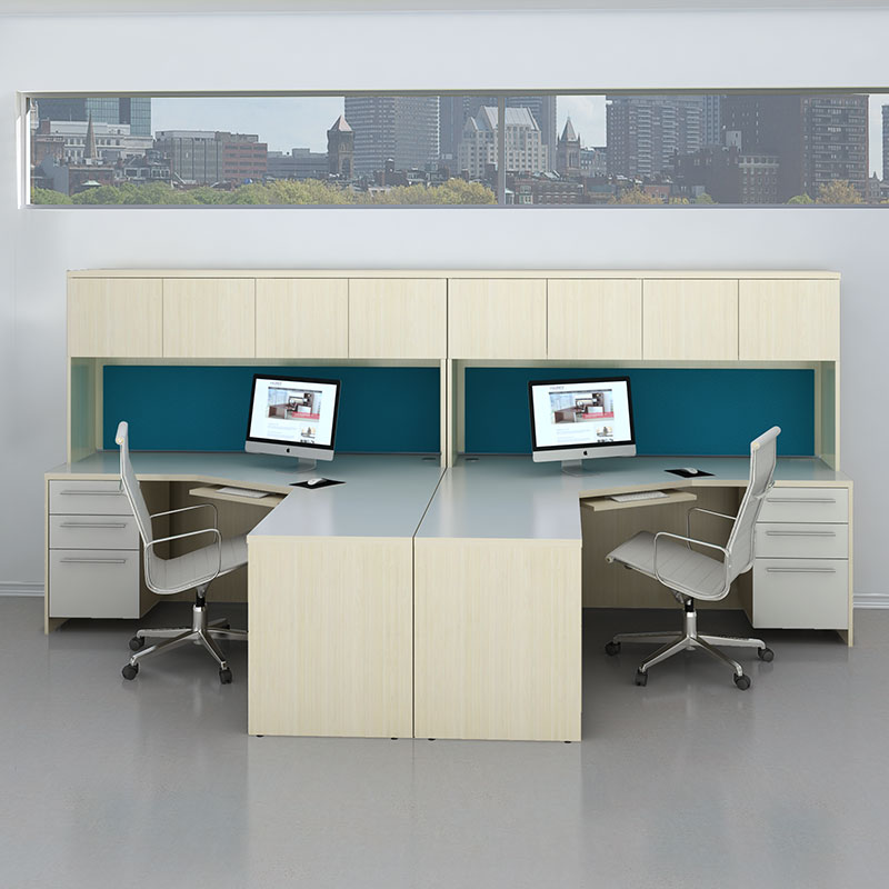2 person office furniture