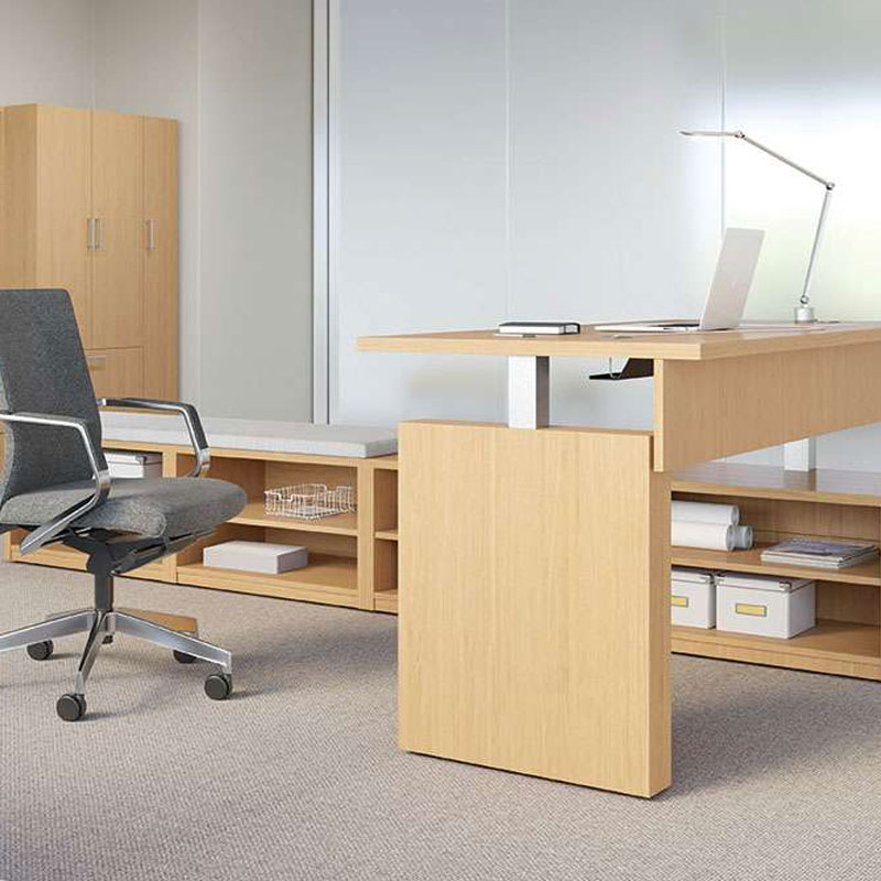 standing height executive desk los angeles