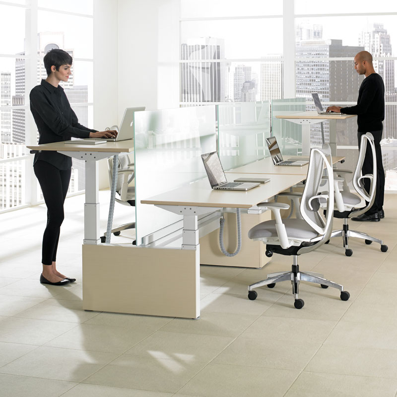 modern standing height desks los angeles