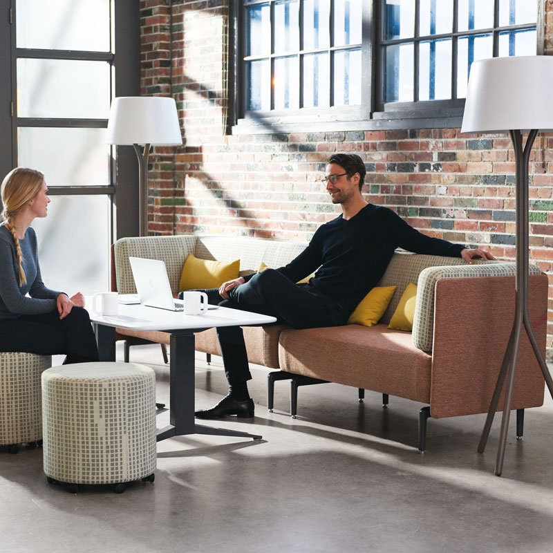 casual meeting space furniture in office los angeles